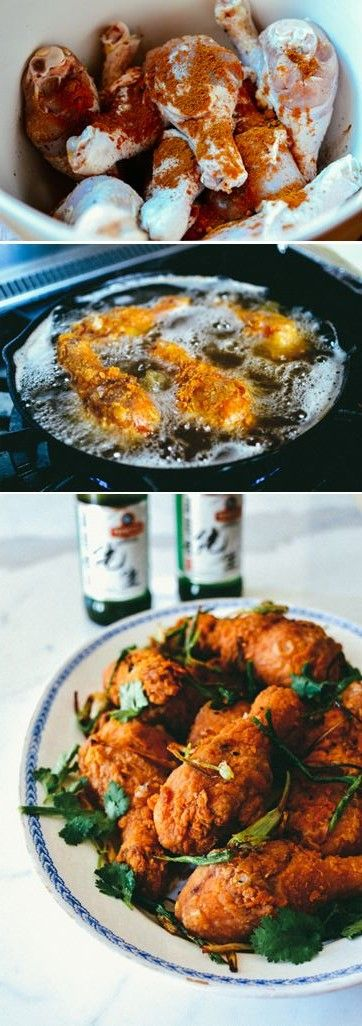 Five Spice Fried Chicken Drumsticks
