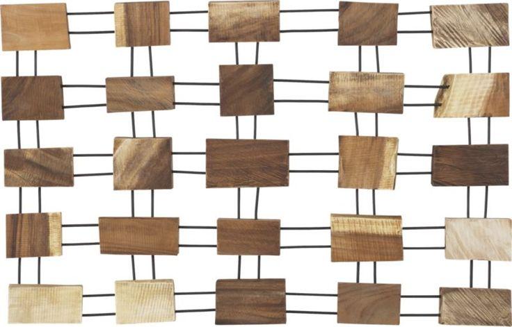 Wood Barrel Wall Decor : Polder ? yellow corkscrew dish rack crates barrels and