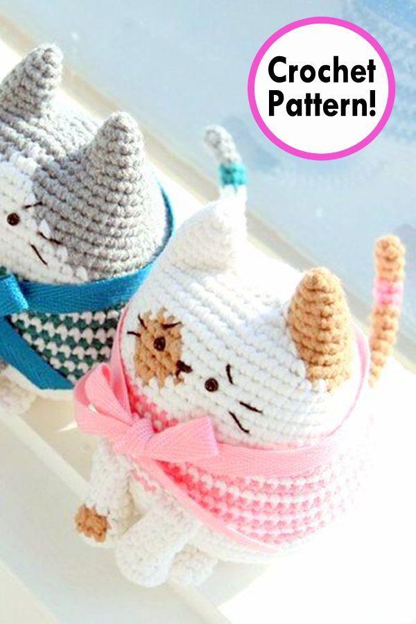 Cat Crochet pattern, Amigurumi Cat, Cat amigurumi pattern, crochet ...