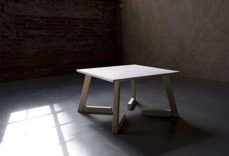Idiosyncratic Salvaged Furniture : Strand Design