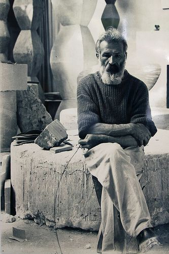 Constantin Brâncuși: pioneer of modernism, one of the most influential sculptors of the 20th-century, Brâncuși is called the patriarch of modern sculpture.