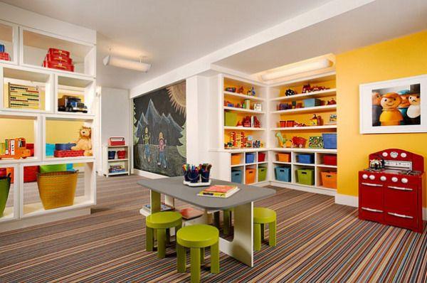Как переделать подвал в яркую и интересную игровую комнату для ребенка