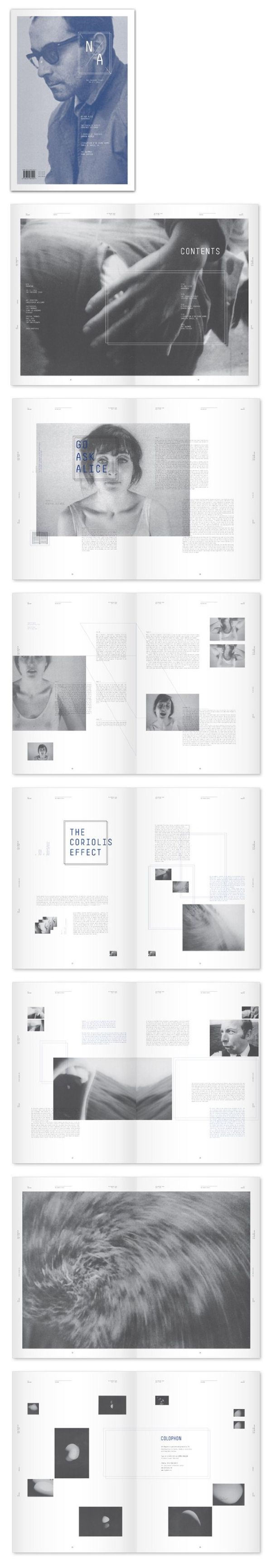 magazine layout. by eunryul park