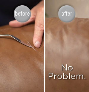 Do You Have Leather Furniture With A Scuff, Scratch Or Small Tear?