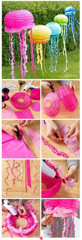 Don't forget to invite the jelly fish to your next Under the Sea Party! Isn't this DIY so cool?!