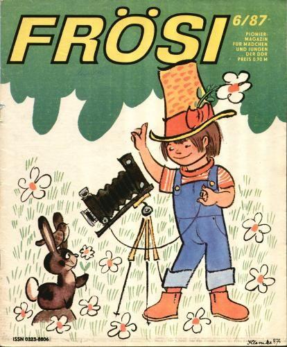 Frösi - Kinderzeitschrift abkürzung für FRÖ hlichsein und SI ngen! damit habe ich auch lesen gelernt