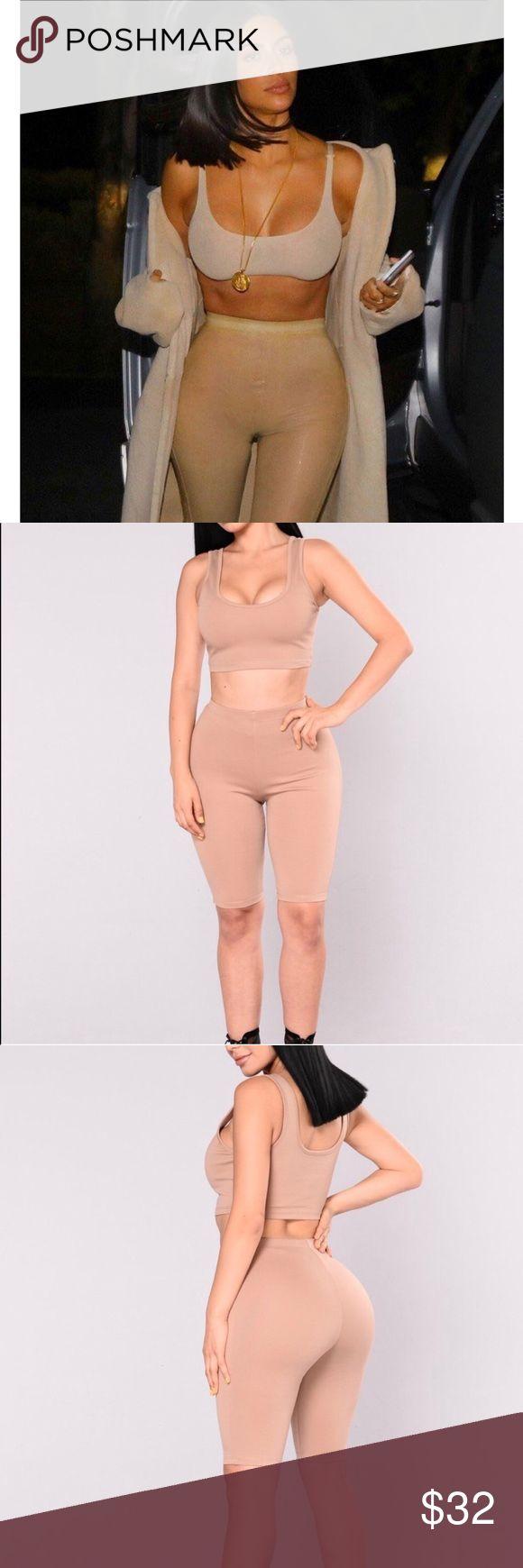 Kim Kardashian Inspired Nude Set Fashion Nova S NWT. SOLD OUT! never worn. stret...