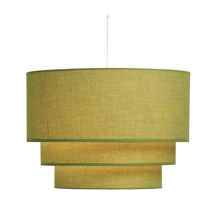 Wilko 3 tier shade olive ceiling light