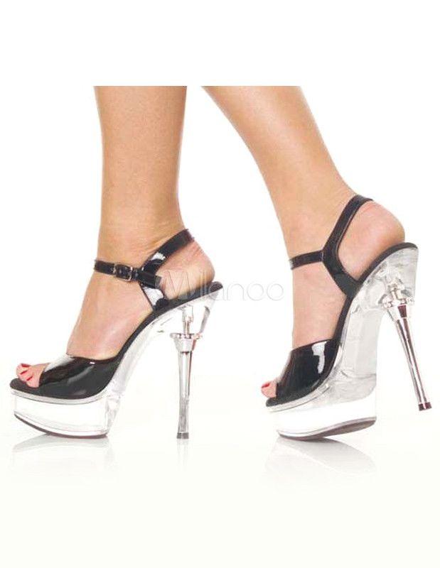 #Milanoo.com Ltd          #Sexy Sandals             #Modern #Black #Patent #Peep #Patent #Upper #Women's #Sexy #Sandals           Modern Black Patent Peep Toe Patent PU Upper Women's Sexy Sandals                                       http://www.snaproduct.com/product.aspx?PID=5730913
