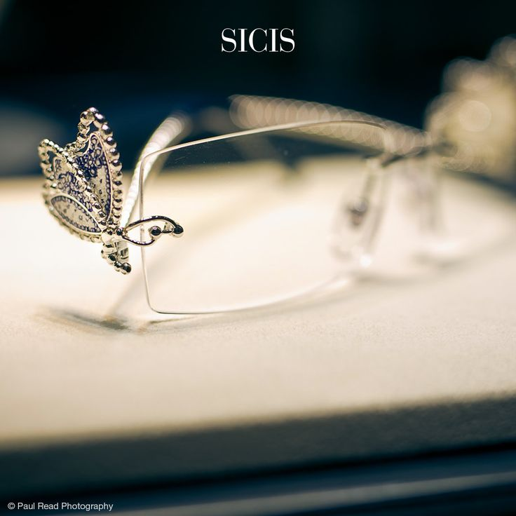 Gold Glasses decorated with our stunning Micro Mosaic and Diamonds