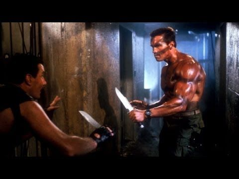 Top 10 Hollywood Movie Knife Fights - YouTube
