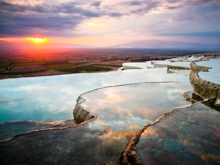 """Pamukkale, Denizli Province, Turkey - World Heritage listed natural hot water pools. Picture: Jennifer E. Hayes/Getty Images SEE MORE:  <a href=""""http://www.escape.com.au/top-lists/10-best-natural-swimming-pools-in-the-world/news-story/361121030b4479e7a36090db0a2d5200"""" target=""""_blank"""">World's best natural swimming holes</a>"""