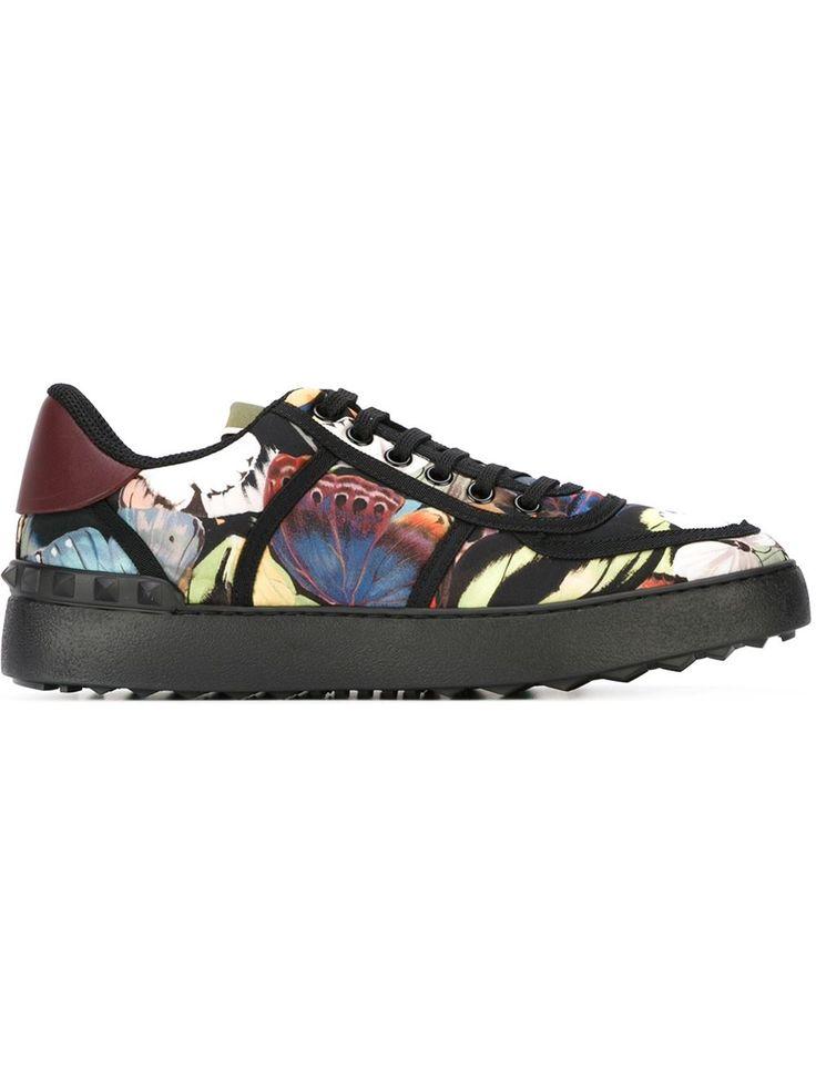 Valentino Garavani 'camubutterfly' Sneakers - Vinicio - Farfetch.com