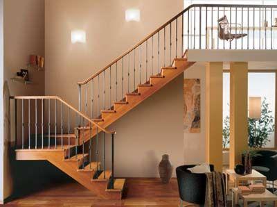 preciosa escalera de madera