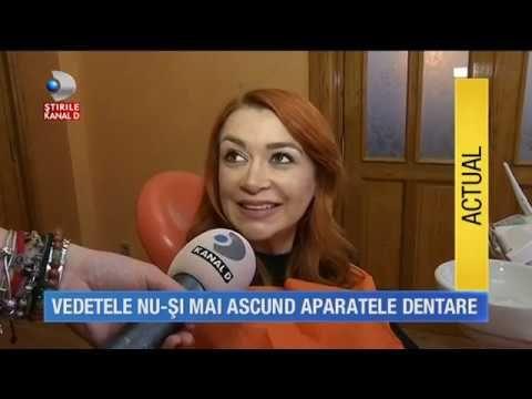 Stirile kanal D (23.02.2017) - Vedetele isi arata aparatele dentare - YouTube