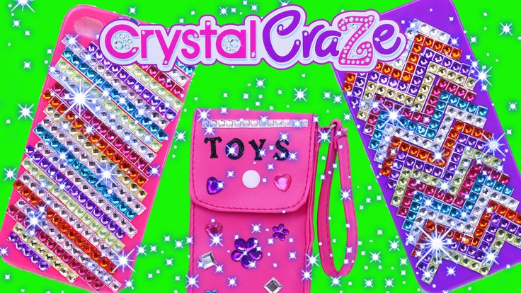 Cra-Z-Art iPhone DIY Cell Phone Case Maker Bling Jewels Crystal Craze Gi...