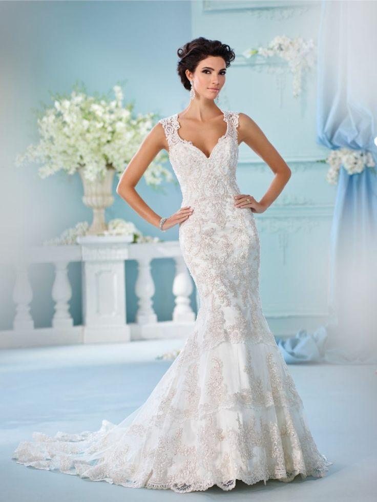 26 besten Wedding Dresses Bilder auf Pinterest   Hochzeitskleider ...