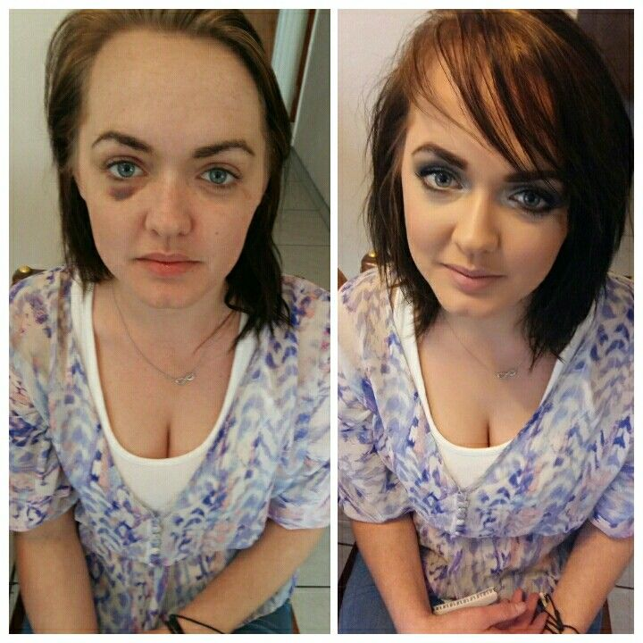 We love makeovers!!! #hair #GHD #makeup #makeover #MAC #Inglot #SmokeyEyes