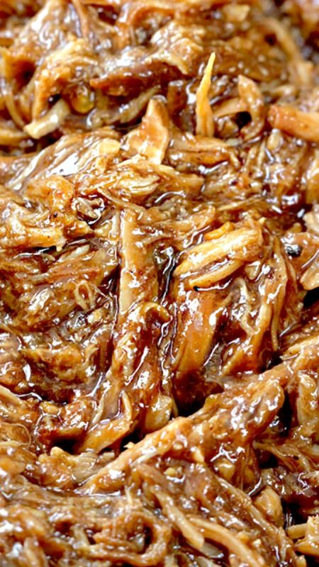 """Best"" BBQ Pulled Pork (Slow Cooker) ~ Tender, tangy sweet, smokey, BBQ Pulled Pork perfect for large gatherings, busy weekdays or whenever you are craving the ""Best"" BBQ pulled pork!"