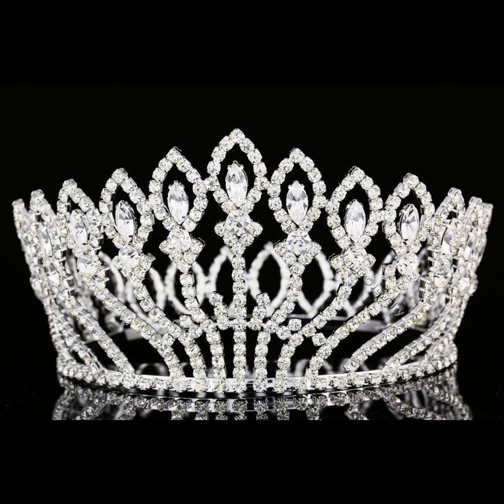 Bridal Pageant Rhinestone Crystal Prom Wedding Full Crown Tiara 8937 | Clothing, Shoes & Accessories, Wedding & Formal Occasion, Bridal Accessories | eBay!