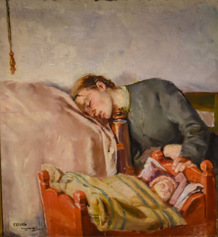 Christian Krohg - Mother and Child, 1883 at National Museum of Art Oslo Norway