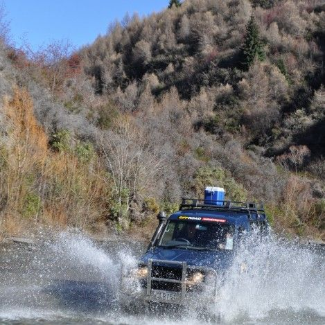 The Off-road Adventures Macetown 4x4 tour takes you into the back country of Arrowntown with over 50 river crossings this is one of the best 4WD tours around. #UltimateQueenstown