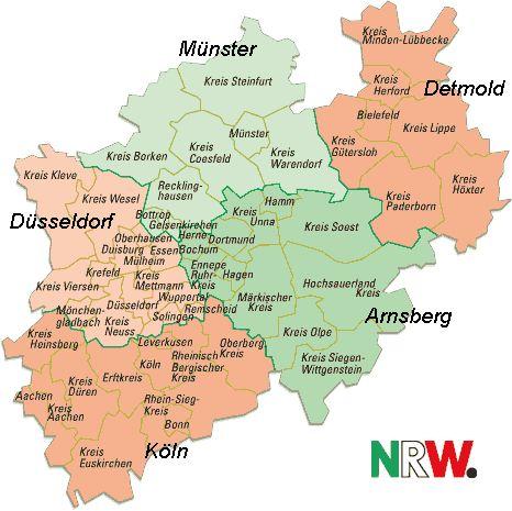 Best NordrheinWestfalen NRW Images On Pinterest Early - Germany map nrw