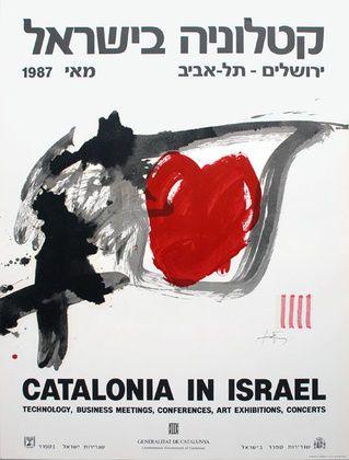 Antoni Tapies Catalonia in Israel Plakat Poster Kunstdruck Farblithografie 70x50   eBay