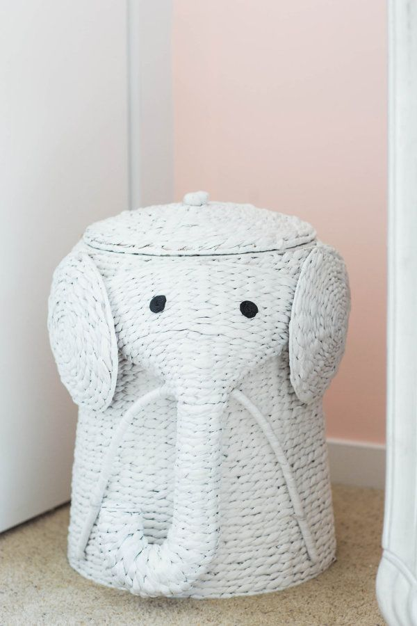 Elephant baby hamper: http://www.stylemepretty.com/living/2016/08/22/having-a-baby-girl-this-blush-gold-nursery-is-a-must-see/ Photography: Lindsey Kay - http://lindseykayphotography.com/