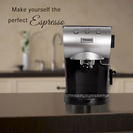 Make yourself the perfect espresso with the touch of a button! Tecnora Coffee Makers feature an intuitive Micro Computer Controlled 4 Pre-Set One Touch Buttons that cater to your coffee preferences while enhancing the flavor of your favorite brew. For specifications, visit: http://bit.ly/1DQluUe
