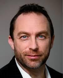 Jimmy Wales, criador da Wikipedia