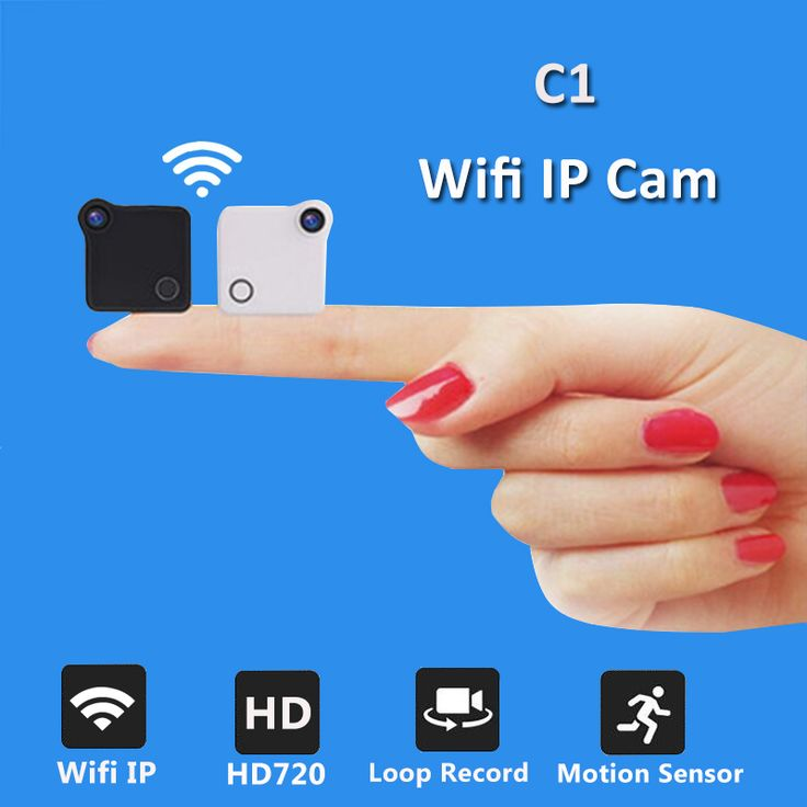 C1 Mini Wifi Camera IP Cam Wearable 720P HD H.264 Body Camera Wireless Motion Detection Mini DV Camera Magnetic Bike Camera  Click visit to check price #camera