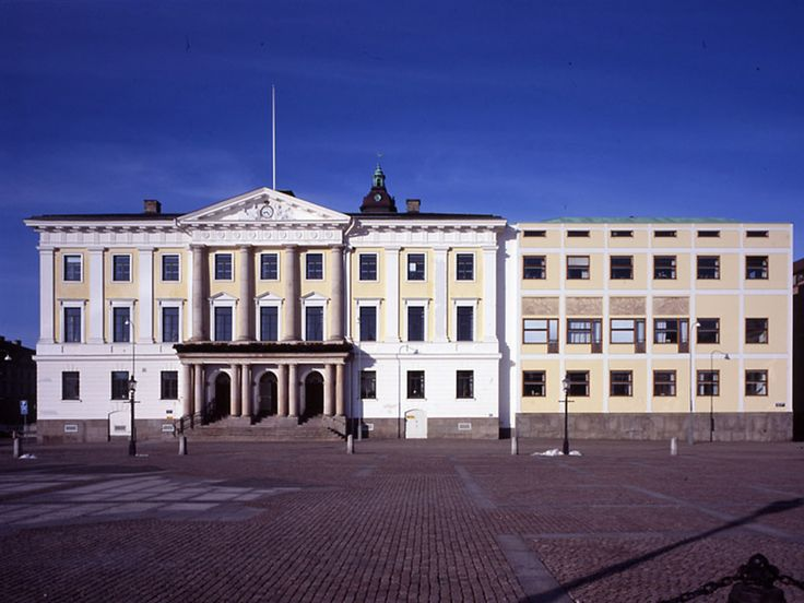 Extension to the Göteborg town hall. Erik Gunnar Asplund