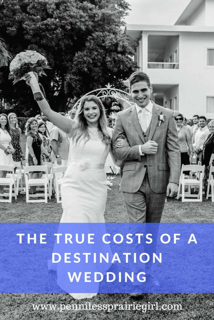 Find out the true cost of a destination wedding!