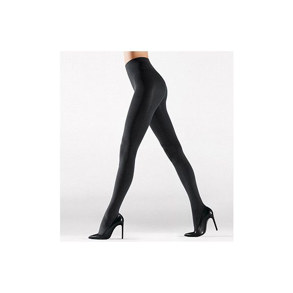 Wolford 14495 Velvet Sensation Tights ($95) ❤ liked on Polyvore featuring intimates, hosiery, tights, opaque pantyhose, wolford, wolford hosiery, lined tights и wolford tights