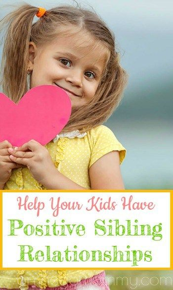 Sibling relationships are so important. They can be life long friends or life long enemies. Positivity should always be encouraged for them. Plus, it will probably be a sanity saver for you! Do you want to know how to instill positive sibling relationships? Stop the rivalry! There is a way that will be worth it for them now and their future.