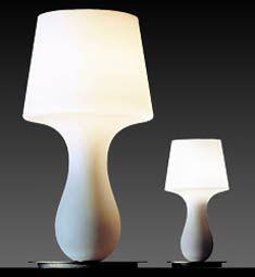 Michele de Lucchi: Fata (large) & Fatina (small) lamps,  Produzione Privata, Italy