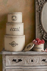 Parisian Hat Boxes