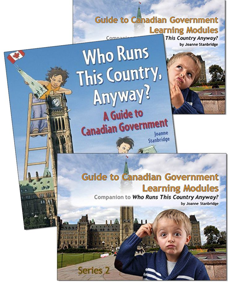 Guide to Canadian Government Bundle - Northwoods Press