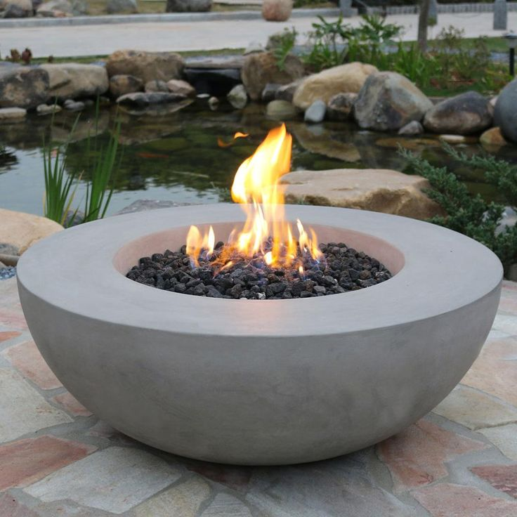 Add some modern flair and natural tone to your entertaining space with the incredible Lunar Concrete Fire Bowl by Elementi. This stunning fire bowl combines Earth and Fire to create a truly unique fire feature that perfectly compliments any outdoor space. Its sleek lines and minimalistic touch make it easy to incorporate into your existing outdoor decor, while it provides a unique connection to nature that will draw the attention of your guests. The Lunar Concrete Fire Bowl is crafted of…