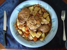 Bouillie de côtelettes de porc au four - Recettes du Québec
