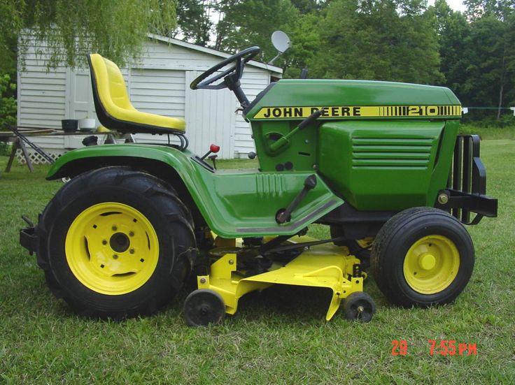 Oldest John Deere Lawn Tractor : Best john deere garden tractors images on pinterest