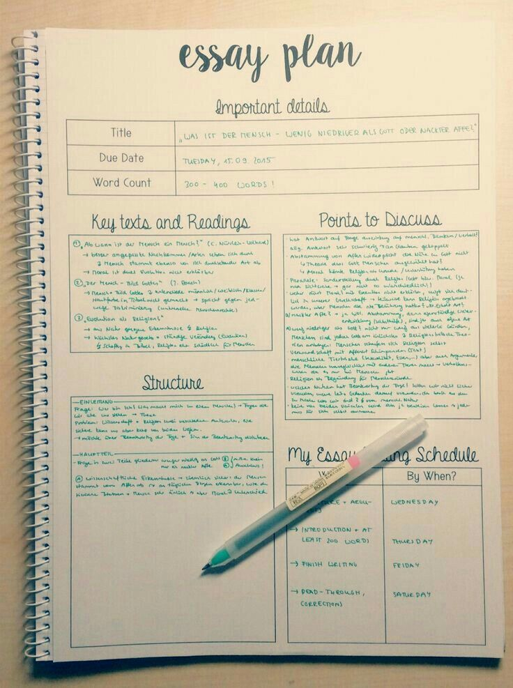 love this way to organize an essay | College Life | School study