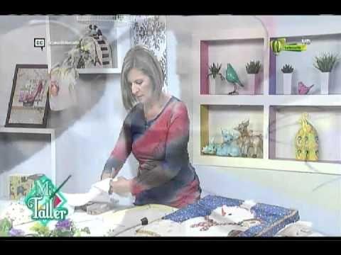 Mi Taller Cuadro en falso patchwork 13 de octubre 2015 Telecafé - YouTube