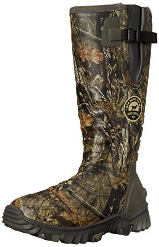 "Irish Setter Men's 4883 Rutmaster 2.0 17"" 800-Gram Rubber Boot, Mod Country Camo, 9 E US. Rubber and neoprene waterproofing. Side gusset. Primaloft insulation. RPM midsole and outsole."