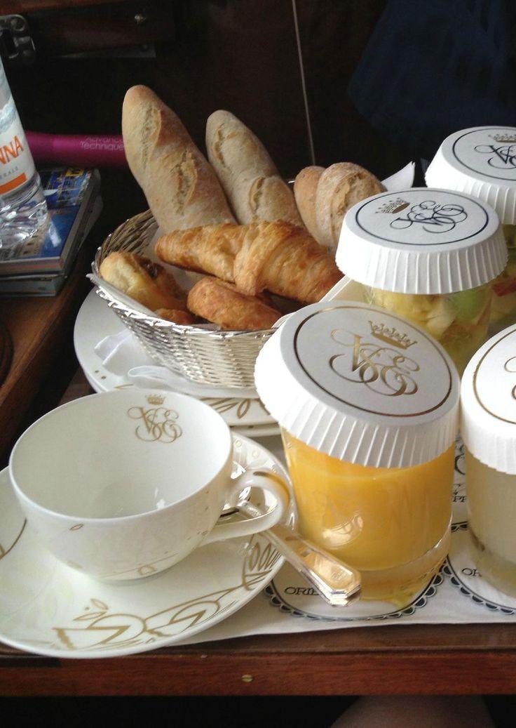 ♔ Venice Simplon Orient Express ~ French breakfast
