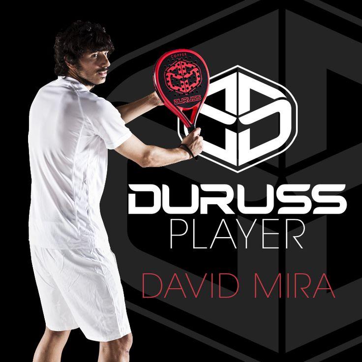 #DavidMira , jugador de pádel