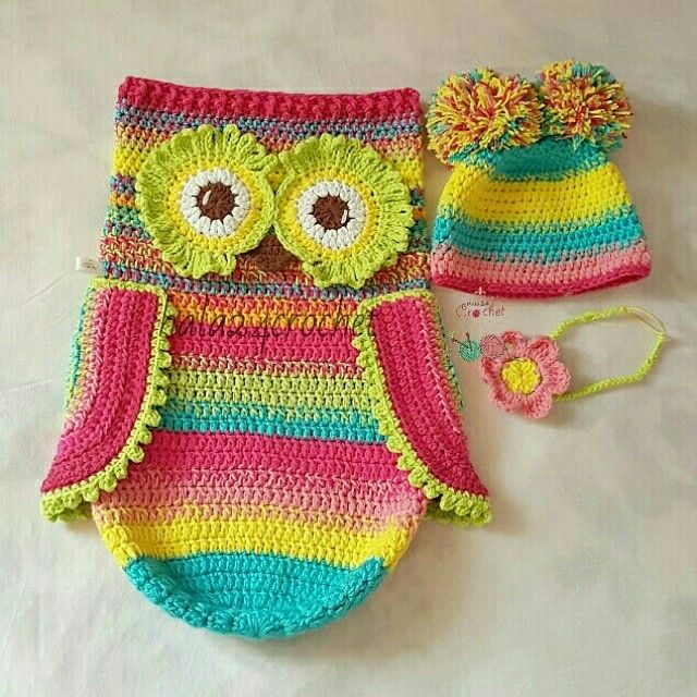 Crochet owl cocoon crochet home Pinterest Crochet ...