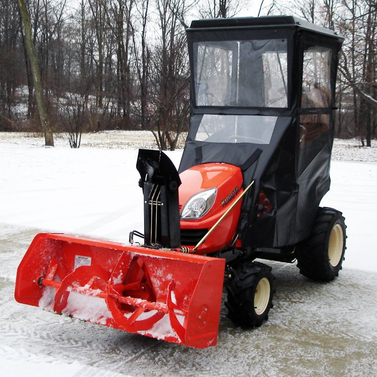 Click Here to Purchase! Hardtop Cab for Kubota GR2000, GR2010, GR100, GR2110 & GR2120 Lawn Tractors