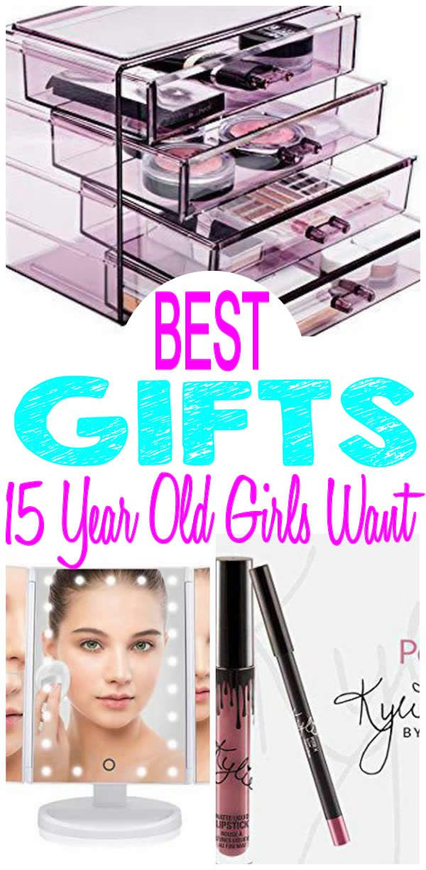 15 Year Old Girl Gifts Get The BEST Girls Will Want Find Most Popular And Trendy Presents For A 15th Birthday